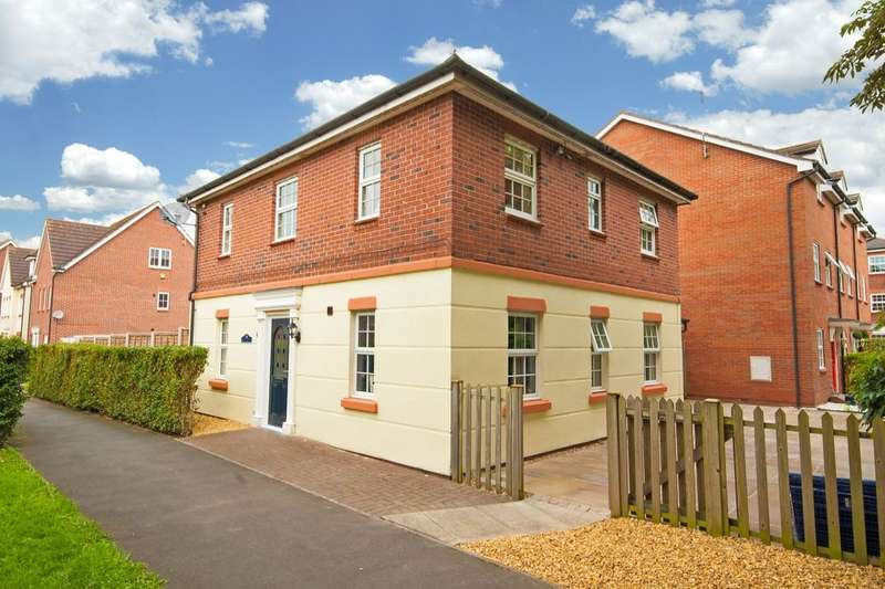 4 Bedrooms Detached House for sale in Chadwicke Close, Nantwich, CW5