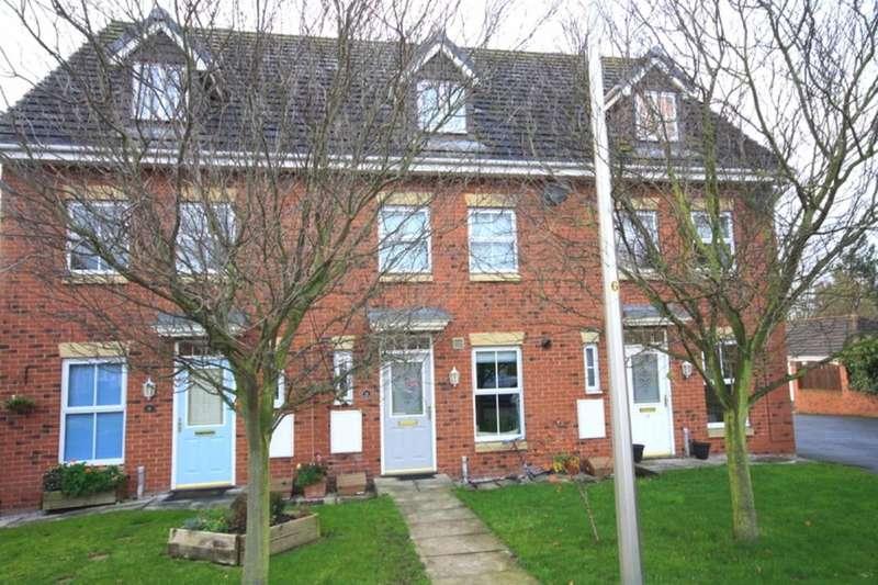 3 Bedrooms Terraced House for sale in Sherratt Close, Stapeley, Nantwich, CW5