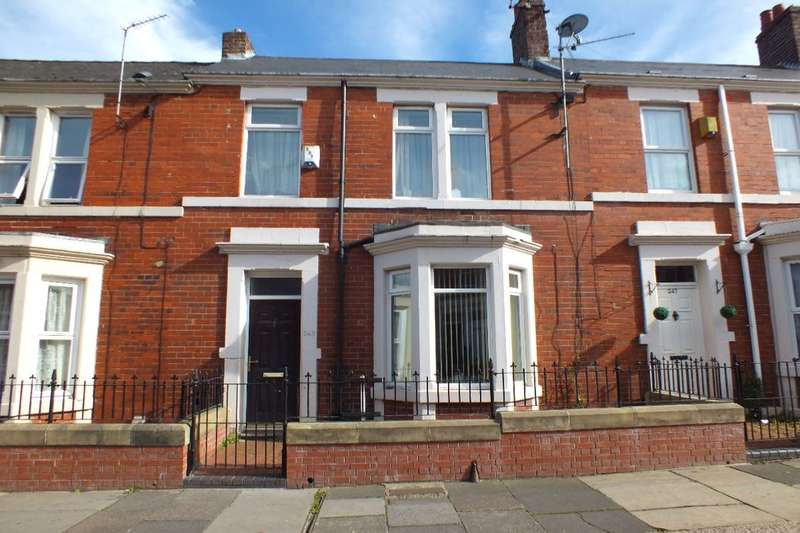 3 Bedrooms Terraced House for sale in Wingrove Avenue, Newcastle Upon Tyne, NE4