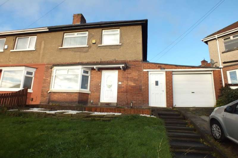 3 Bedrooms Semi Detached House for sale in Benwell Grange Avenue, Newcastle Upon Tyne, NE15
