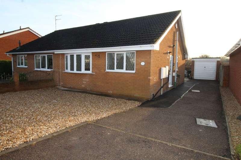 2 Bedrooms Semi Detached Bungalow for sale in Dryhurst Close, Norton, Doncaster, DN6