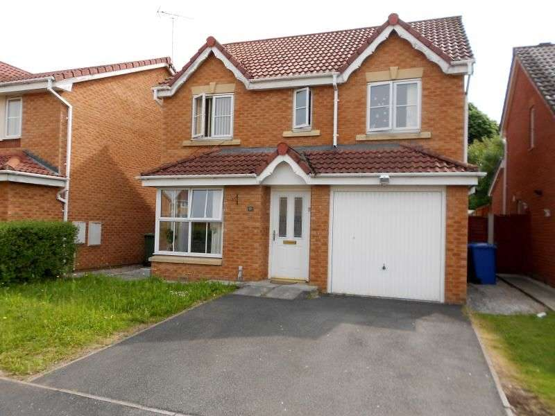 4 Bedrooms Detached House for sale in Newport Close, Wrexham, LL13