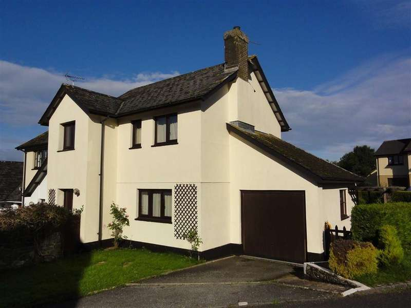 3 Bedrooms Semi Detached House for sale in Cob Meadow, Hatherleigh, Okehampton, Devon, EX20