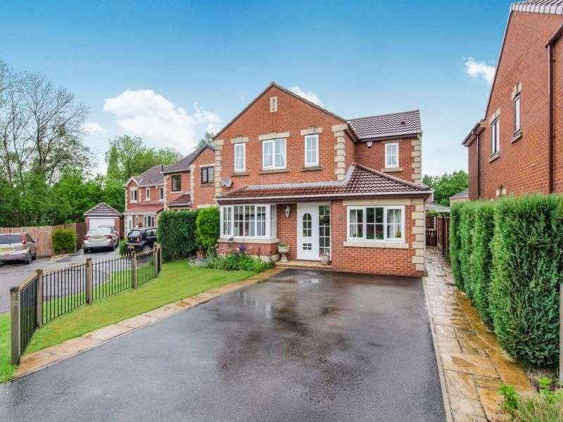 4 Bedrooms Detached House for sale in Parklands Court, WAKEFIELD, WF4