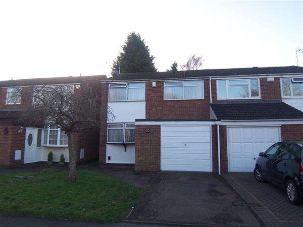 3 Bedrooms Semi Detached House for sale in Dorchester Way, Coventry