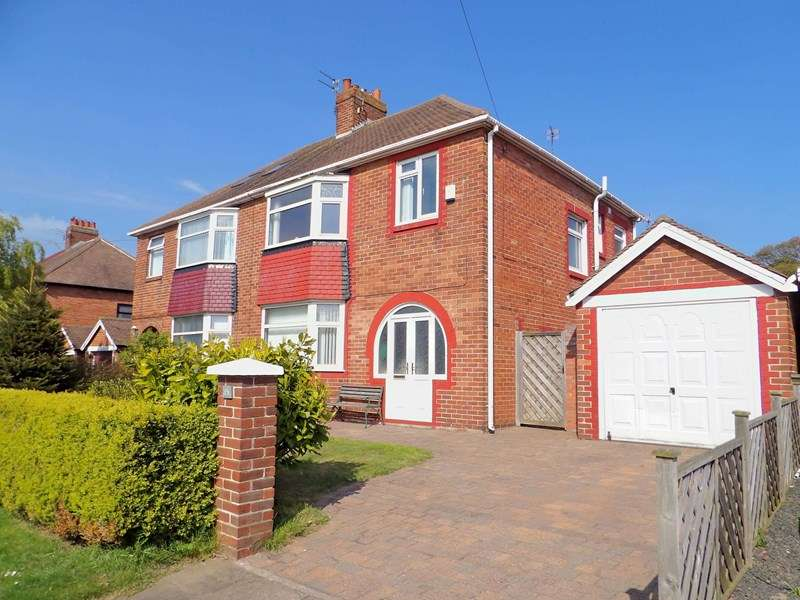 3 Bedrooms Property for sale in Cleadon Hill Road, South Shields , South Shields, Tyne and Wear, NE34 8DR