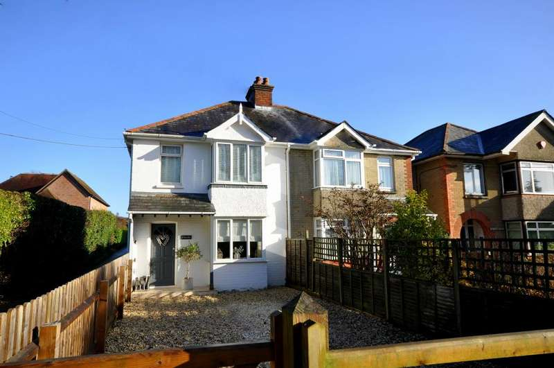 3 Bedrooms Semi Detached House for sale in Brighton Road, Sway, SO41 6EB