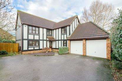 5 Bedrooms Detached House for sale in Great Portway, Great Denham, Bedfordshire, United Kingdom