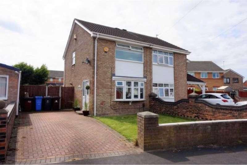 2 Bedrooms Semi Detached House for rent in Avon Close, Shevington Park, Kirkby