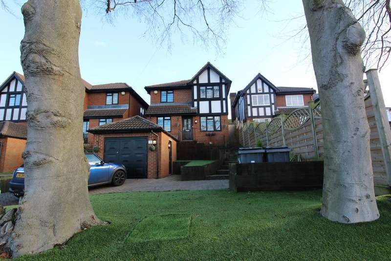 4 Bedrooms Detached House for sale in Glentrammon Road, Green Street Green, Orpington, Kent, BR6 6DQ