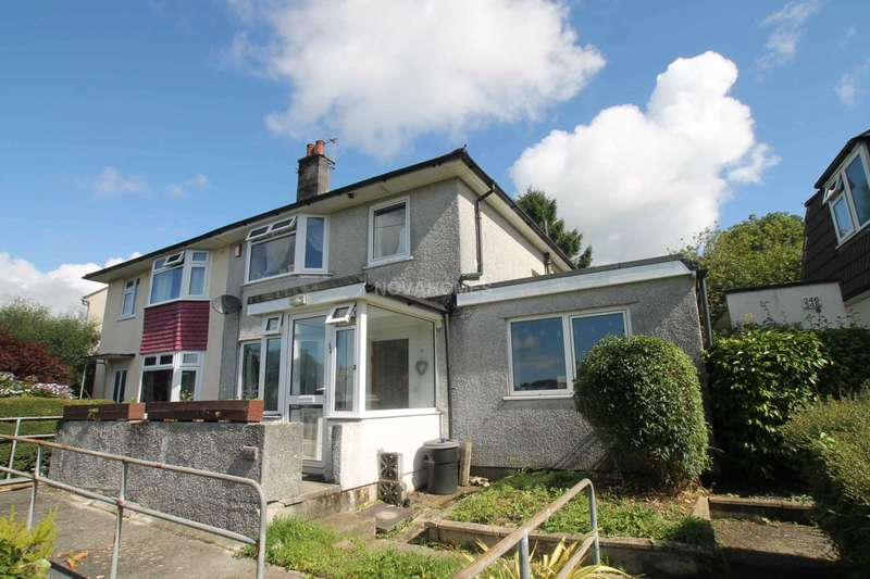 3 Bedrooms Semi Detached House for sale in Budshead Road, Whitleigh, Plymouth, PL5 4DA
