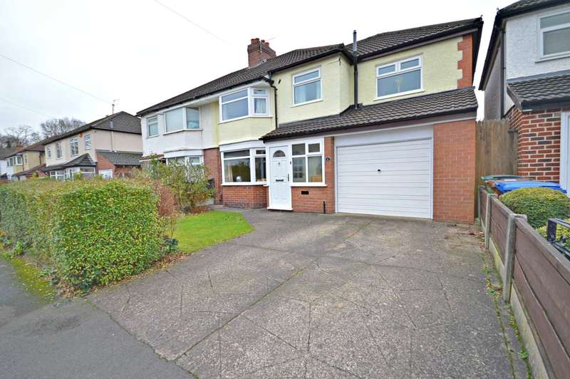 4 Bedrooms Semi Detached House for sale in Briarfield Road, Cheadle Hulme