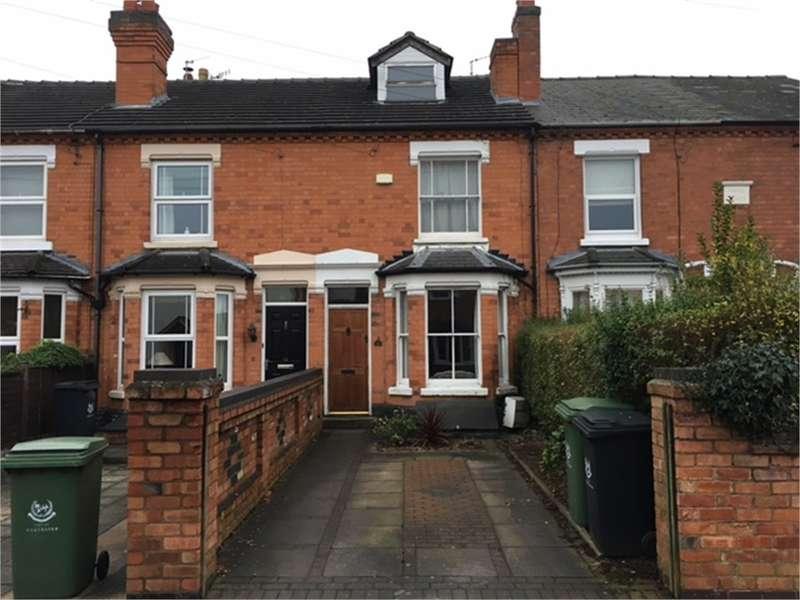3 Bedrooms Terraced House for rent in Melbourne Street, Barbourne, Worcester, WR3