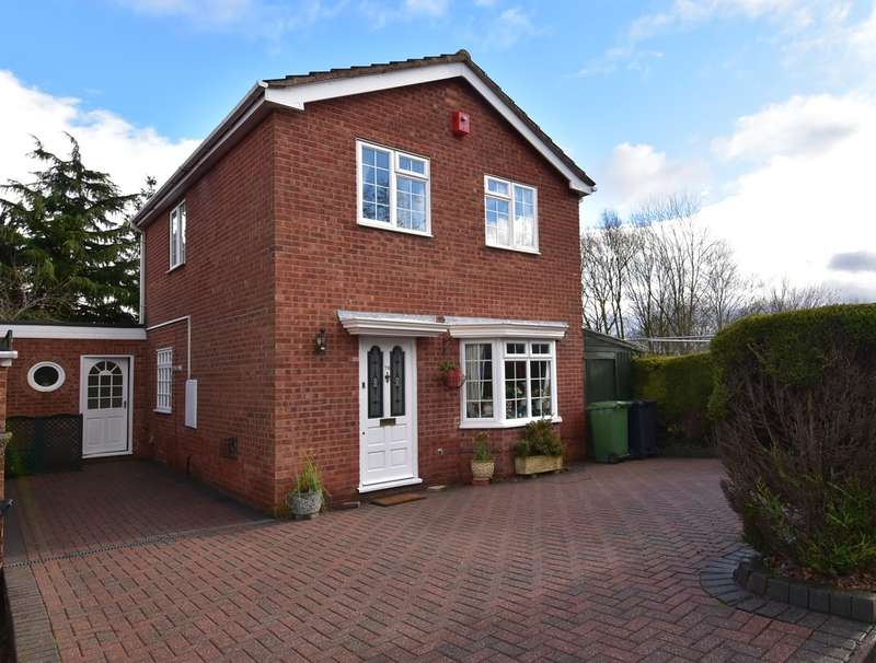 3 Bedrooms Detached House for sale in Cockshute Hill, Droitwich, WR9