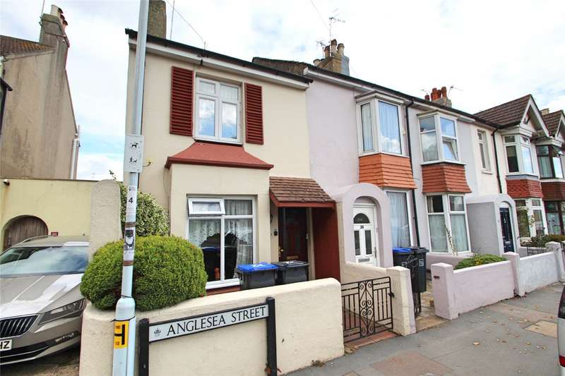 2 Bedrooms End Of Terrace House for sale in Anglesea Street, Worthing, West Sussex, BN11