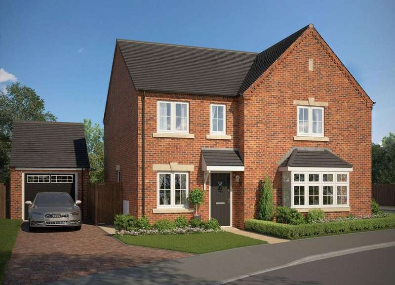 4 Bedrooms Detached House for sale in Wyvern Grange Dore