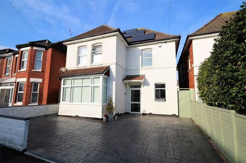4 Bedrooms Detached House for sale in Wickham Road, BOURNEMOUTH, Dorset