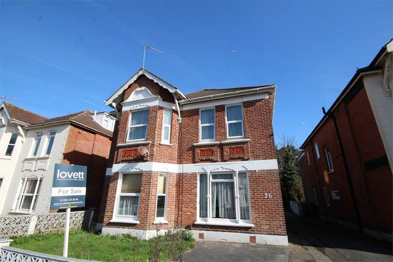 1 Bedroom Flat for sale in 26 Hamilton Road, Bournemouth, Dorset