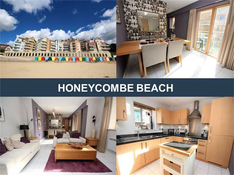 2 Bedrooms Flat for sale in Honeycombe Beach, Honeycombe Chine, Boscombe Spa, Bournemouth, Dorset