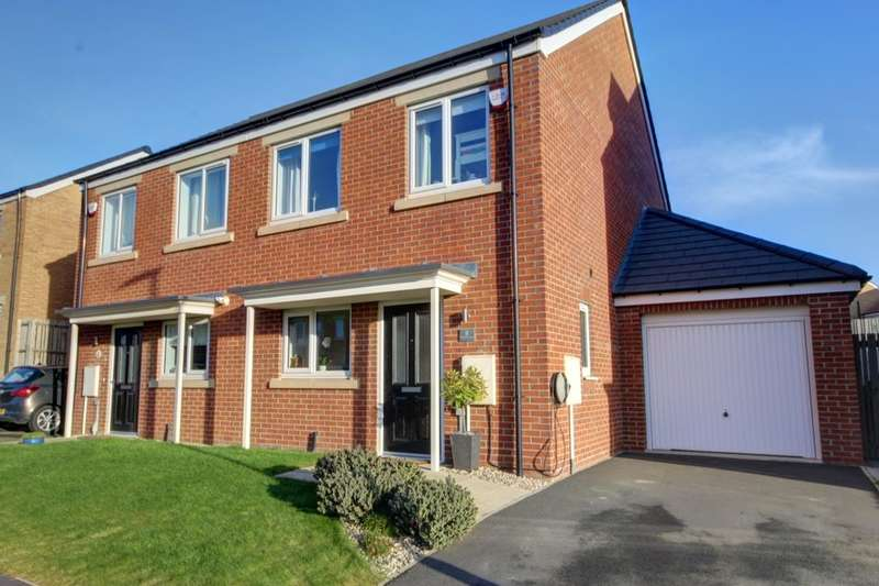 3 Bedrooms Semi Detached House for sale in Primrose Lane, Houghton Le Spring, DH4