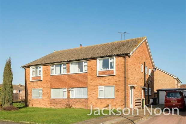 2 Bedrooms Maisonette Flat for sale in Lavender Road, West Ewell
