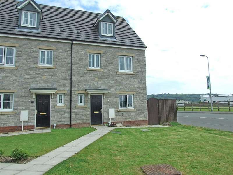 4 Bedrooms Semi Detached House for sale in Ffos Las