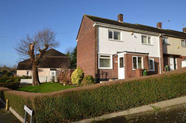 2 Bedrooms End Of Terrace House for sale in Sheridan Road, Plymouth, Devon