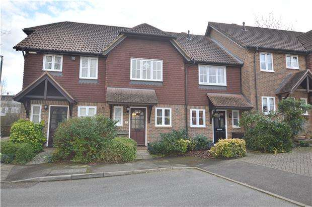 2 Bedrooms Terraced House for sale in Silk Mills Close, SEVENOAKS, Kent, TN14 5AZ