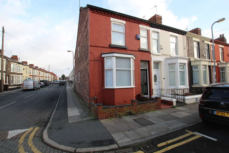 3 Bedrooms End Of Terrace House for sale in Cambridge Road, Bootle, L20