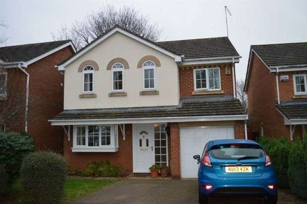 4 Bedrooms Detached House for sale in Valentine Way, Great Billing, Northampton NN3 9XD
