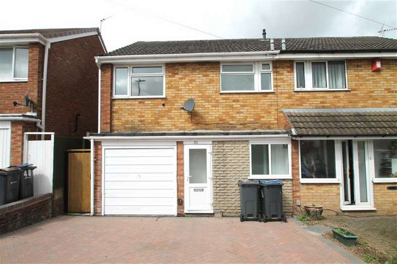 3 Bedrooms Semi Detached House for sale in Clent View Road, Bartley Green