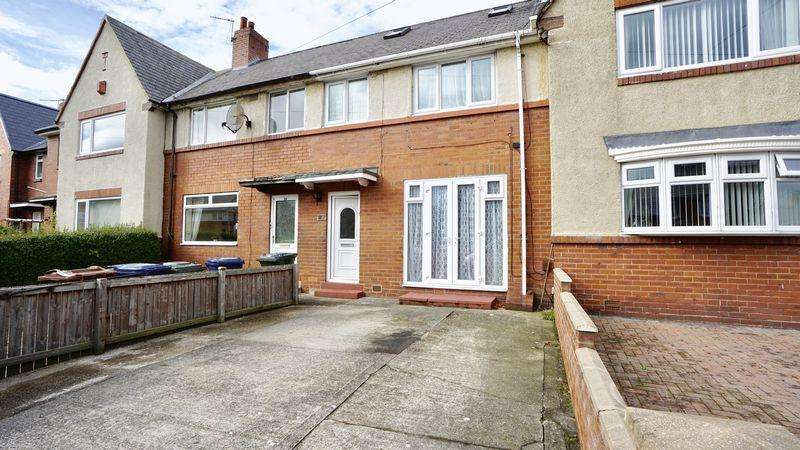3 Bedrooms Terraced House for sale in Weldon Crescent, High Heaton