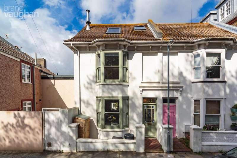 4 Bedrooms Semi Detached House for sale in Finsbury Road, Brighton, BN2