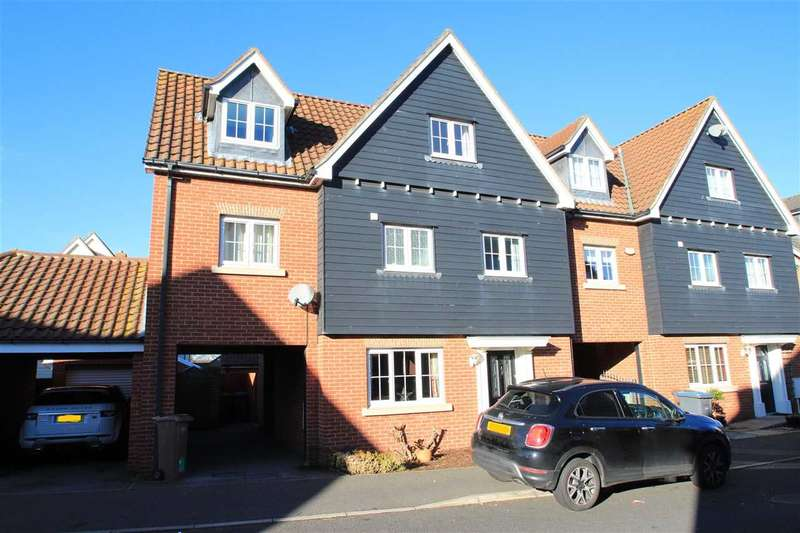 5 Bedrooms Semi Detached House for sale in Meadow Crescent, Purdis Farm, Ipswich