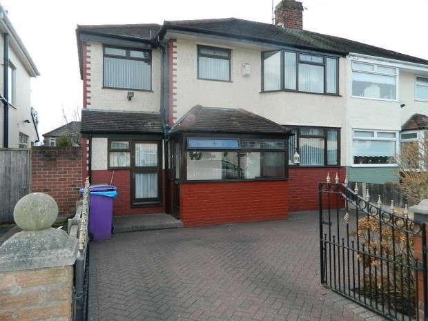 4 Bedrooms Semi Detached House for sale in Lydford Road, Liverpool, L12