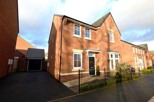 4 Bedrooms Detached House for sale in Sutton Avenue, Hertiage Park, Silverdale, Newcastle-under-Lyme