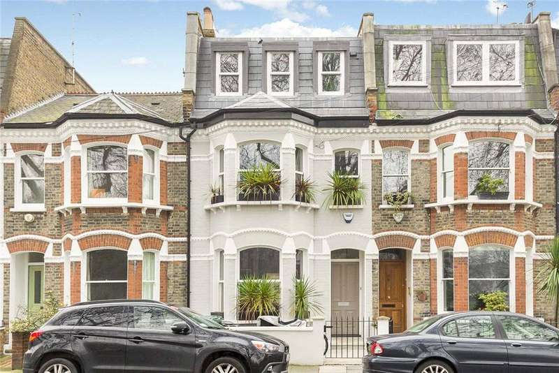 5 Bedrooms Terraced House for sale in Favart Road, Fulham, London, SW6