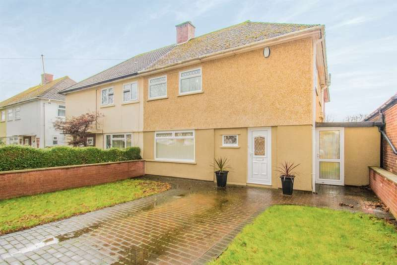 4 Bedrooms Semi Detached House for sale in Gabalfa Avenue, Gabalfa, CARDIFF
