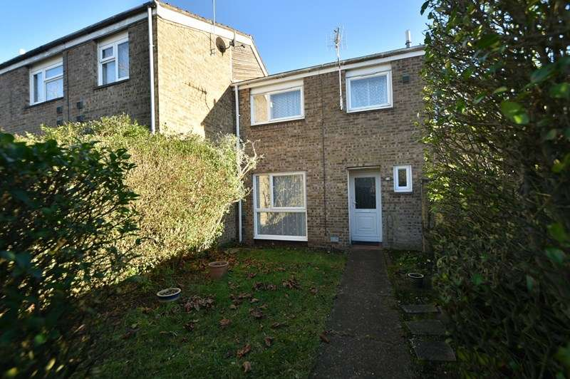 3 Bedrooms Terraced House for sale in Selwyn Close, Mildenhall, BURY ST EDMUNDS