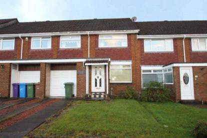 3 Bedrooms Terraced House for sale in Birchwood Avenue, Mount Vernon, Lanarkshire