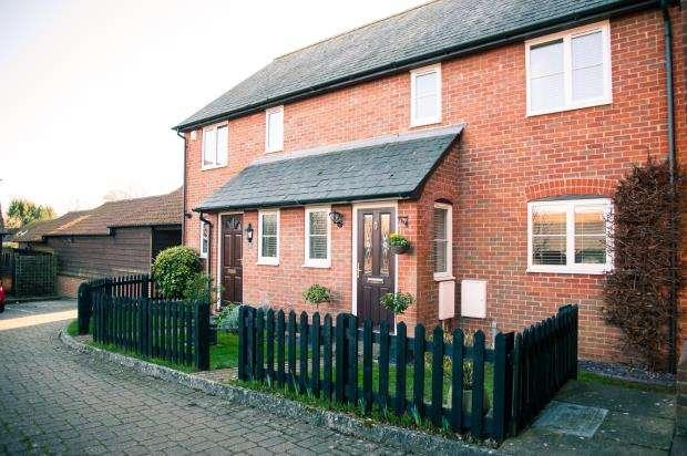 2 Bedrooms Semi Detached House for sale in Monk Sherborne Road, Sherborne St. John, Basingstoke