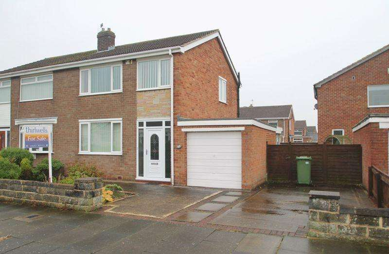 3 Bedrooms Semi Detached House for sale in Cayton Drive, Billingham