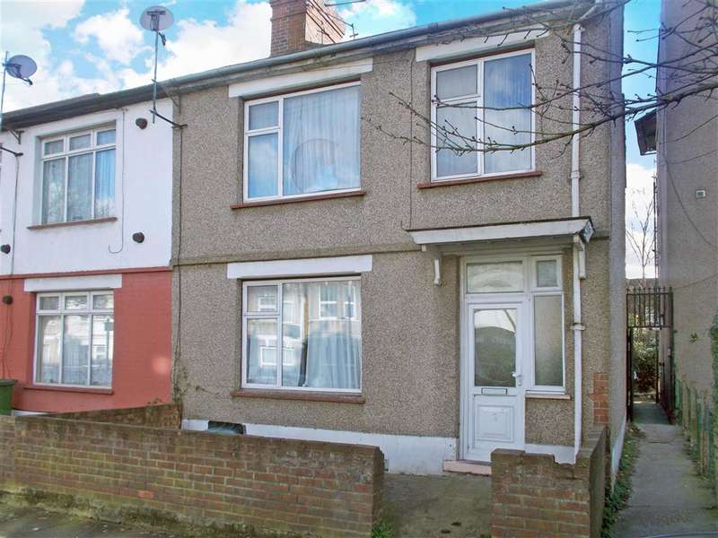 3 Bedrooms End Of Terrace House for sale in Johnstone Road, , East Ham, London