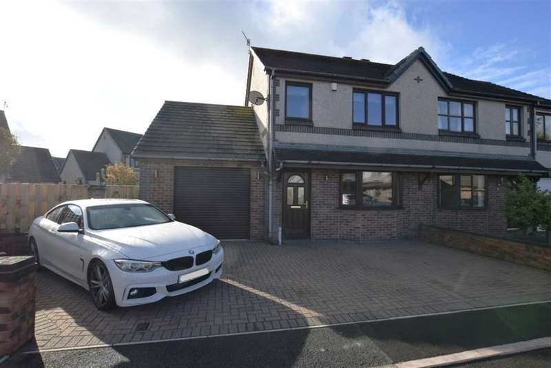 2 Bedrooms Semi Detached House for sale in Caspian Road, Askam In Furness, Cumbria