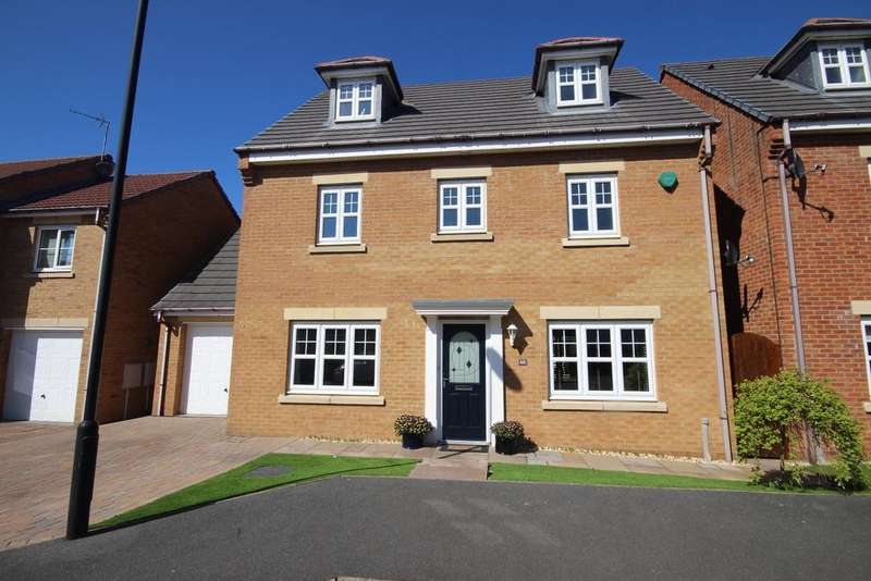 4 Bedrooms Detached House for sale in Earlsmeadow, Earsdon View, Newcastle upon Tyne, NE27