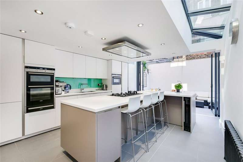 4 Bedrooms Terraced House for sale in Mossbury Road, Battersea, London