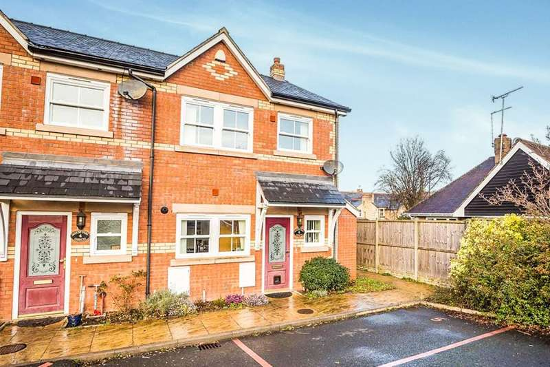 3 Bedrooms Semi Detached House for sale in Queens Park Gardens Queens Road, OSWESTRY, SY11