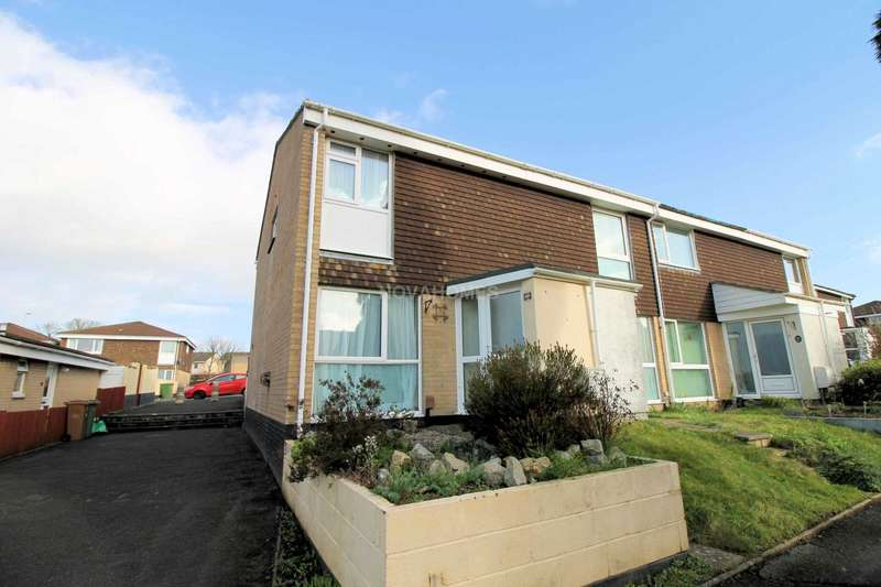 2 Bedrooms End Of Terrace House for sale in Downfield Walk, Plympton, PL7 2DT