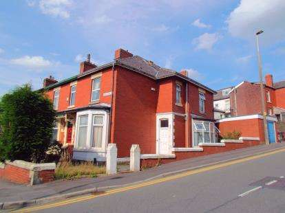 4 Bedrooms End Of Terrace House for sale in Sunnybank Road, Infirmary, Blackburn, Lancashire, BB2