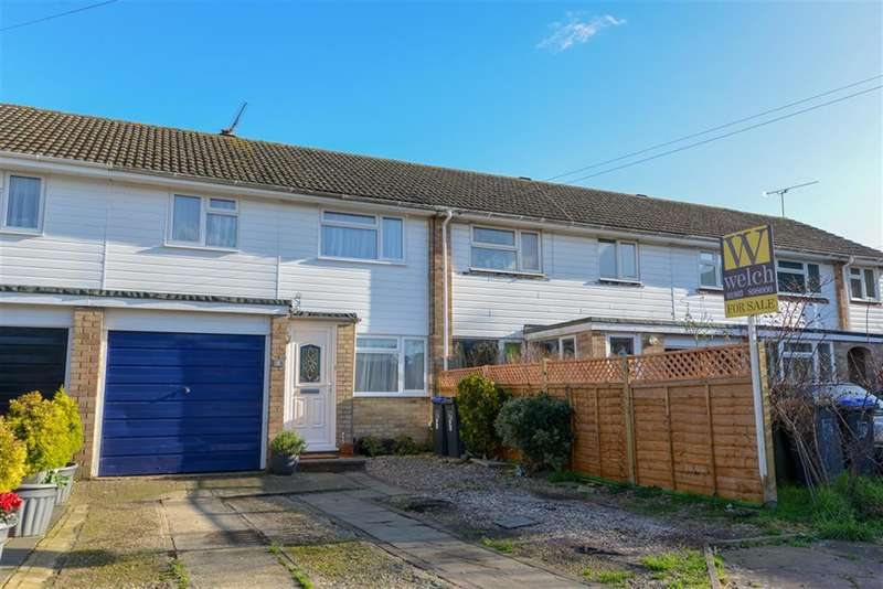 3 Bedrooms Terraced House for sale in Wear Close, Durrington, West Sussex, BN13 3PE
